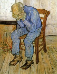 Old man in sorrow, Vincent van Gogh
